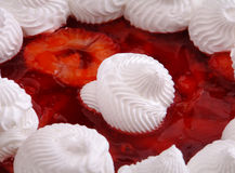 Strawberries and Cream Royalty Free Stock Image