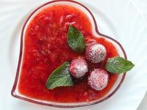 Strawberries dessert Royalty Free Stock Photo