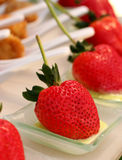 Strawberries dessert Royalty Free Stock Photos