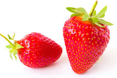 Strawberries - favorite fruit. Fresh red strawberries for a healthy diet,photography Stock Photos