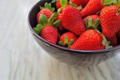 Strawberries. Fresh Strawberries on a bowl Stock Photo
