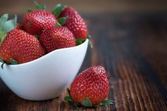 Strawberries, Frisch, Ripe, Sweet Stock Images