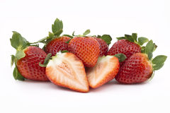 Strawberries group Royalty Free Stock Photo