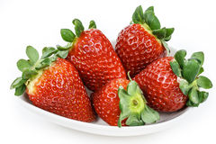 Strawberries group Royalty Free Stock Photos