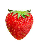 Strawberries with horns. Symbol of temptation. Strawberries with horns Stock Photos
