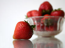 Strawberries II. Strawberries, close-up stock photography