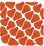 Strawberries illustration stock photo