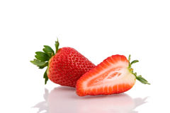 Strawberries isolated Royalty Free Stock Photo