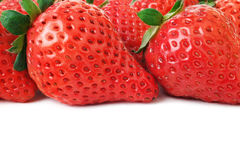 Strawberries isolated Royalty Free Stock Image