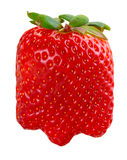 Strawberries isolated Stock Photo