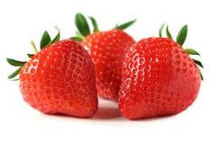 Free Strawberries Isolated On White Stock Photos - 14118213