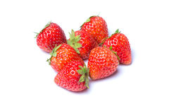 Strawberries. Isolated over white background Royalty Free Stock Image