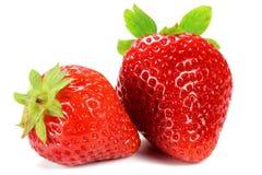 Strawberries. Isolated on white background stock image