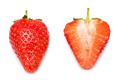 Strawberries Isolated Stock Images