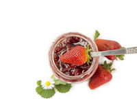 Strawberries jam Royalty Free Stock Photography
