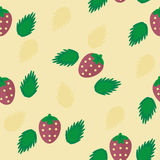 Strawberries. Light Strawberries background for printing Stock Images