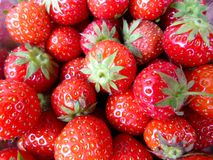 Strawberries. Luscious juicy strawberries for sale Royalty Free Stock Image