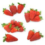 Strawberries mix royalty free stock images