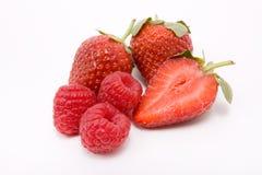 Strawberries n Rasps Royalty Free Stock Image