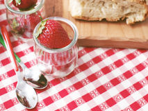 Strawberries for picnic Royalty Free Stock Image
