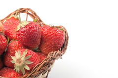 Strawberries in pottle Stock Photography
