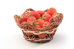 Strawberries in pottle Stock Image