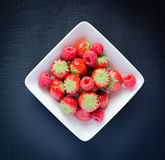 Strawberries, raspberries Stock Photo