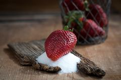 Strawberries, Red, Frisch, Ripe Royalty Free Stock Photography