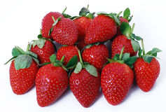 Strawberries ripe Royalty Free Stock Images
