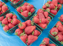 Strawberries for Sale Stock Photo