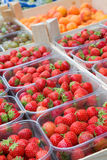 Strawberries for sale Royalty Free Stock Photography
