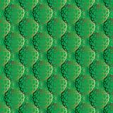 Strawberries seamless pattern stock illustration