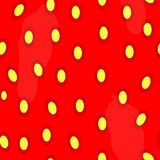 Strawberries seamless pattern backgroud Stock Photo