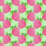 Strawberries. Seamless pattern with berries. Hand-drawn background. Vector illustration. stock illustration
