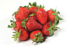 Strawberries seasonal fruit farming Emilia Romagna Italy Royalty Free Stock Photography