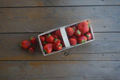 Strawberries. Simple and beautiful strawberries' photo Royalty Free Stock Photo