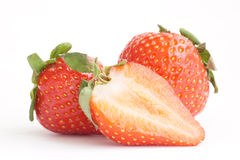 Strawberries. Some fresh red strawberry fruit Stock Photo