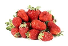 Strawberries stack Royalty Free Stock Images