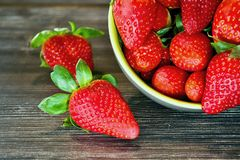 Strawberries. Royalty Free Stock Photos