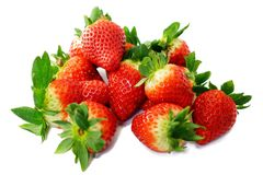Strawberries, Sweet, Red, Delicious Royalty Free Stock Images