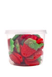 Strawberries sweets box Royalty Free Stock Photos