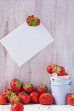 Strawberries on the table Royalty Free Stock Photos