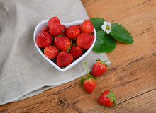 Strawberries on table Royalty Free Stock Photography