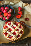 Strawberries tart Royalty Free Stock Photo