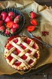 Strawberries tart Royalty Free Stock Photo