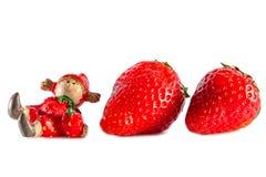 Strawberries toy Stock Image