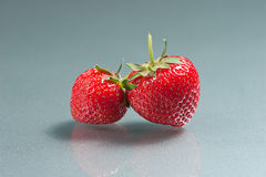 Strawberries. Typical Italian fruit is consumed in spring and summer at the end of the meal Stock Images