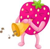 Strawberries vector Royalty Free Stock Photos