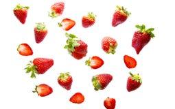 Strawberries vermelhos foto de stock