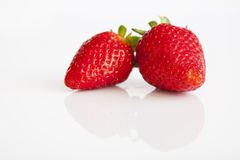 Strawberries vermelhos imagem de stock royalty free
